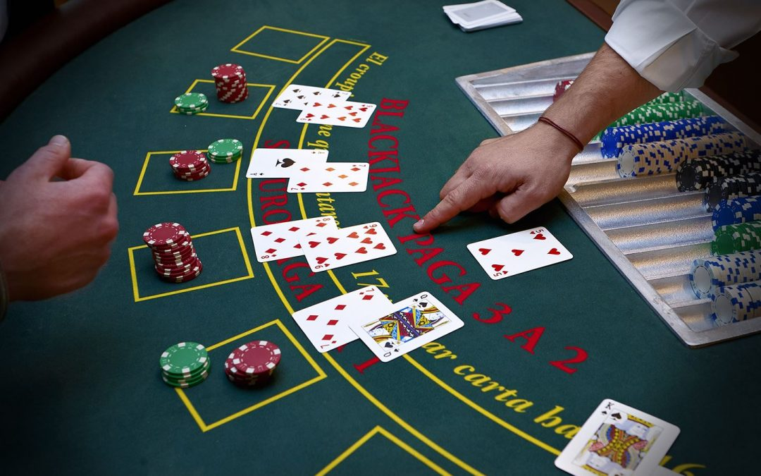 Enkel strategi i blackjack